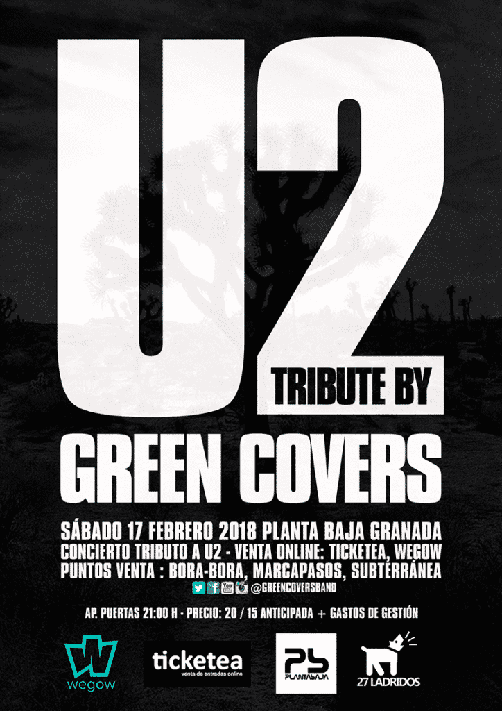 U2 Tribute by Green Covers Planta Baja