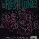 The Fleshtones Planta Baja
