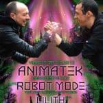 """Pelea de RollaKos"" Animatek Live!; Robot mode aka Jae R. Kaiser Live!; Red Ly Visuales Planta Baja"