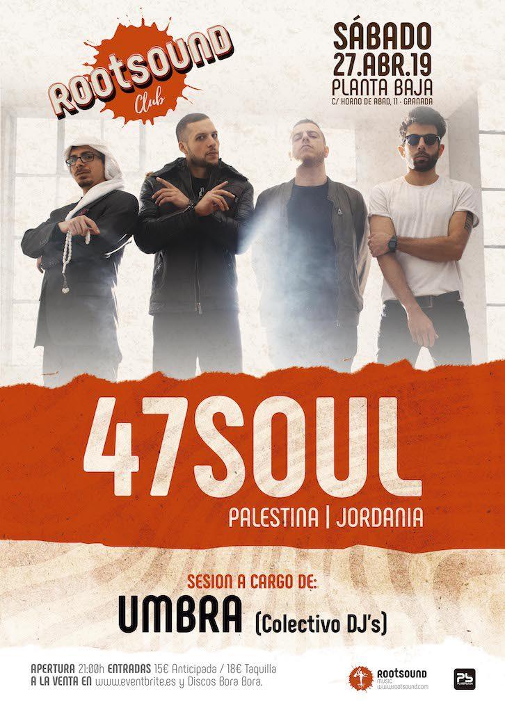 Rootsound Club: 47SOUL Planta Baja