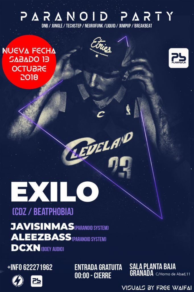 Paranoid Party presenta: EXILO Planta Baja