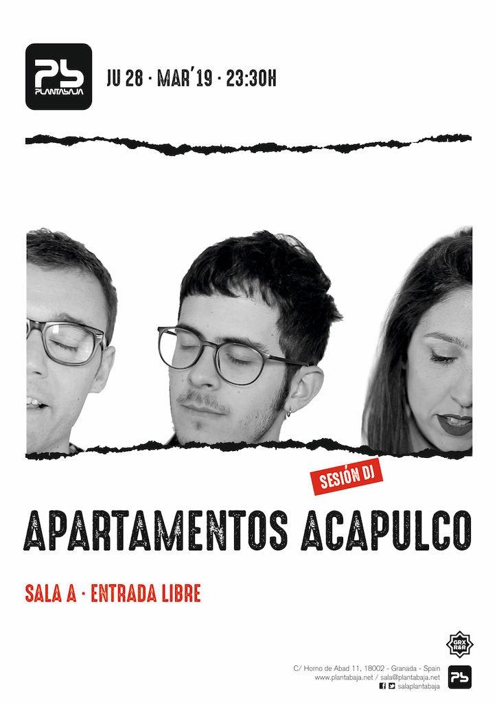 Apartamentos Acapulco DJs Planta Baja