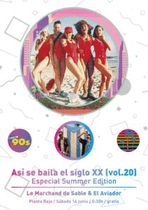 ASÍ SE BAILA EL SIGLO XX (Vol. 20) Especial Summer Edition Planta Baja