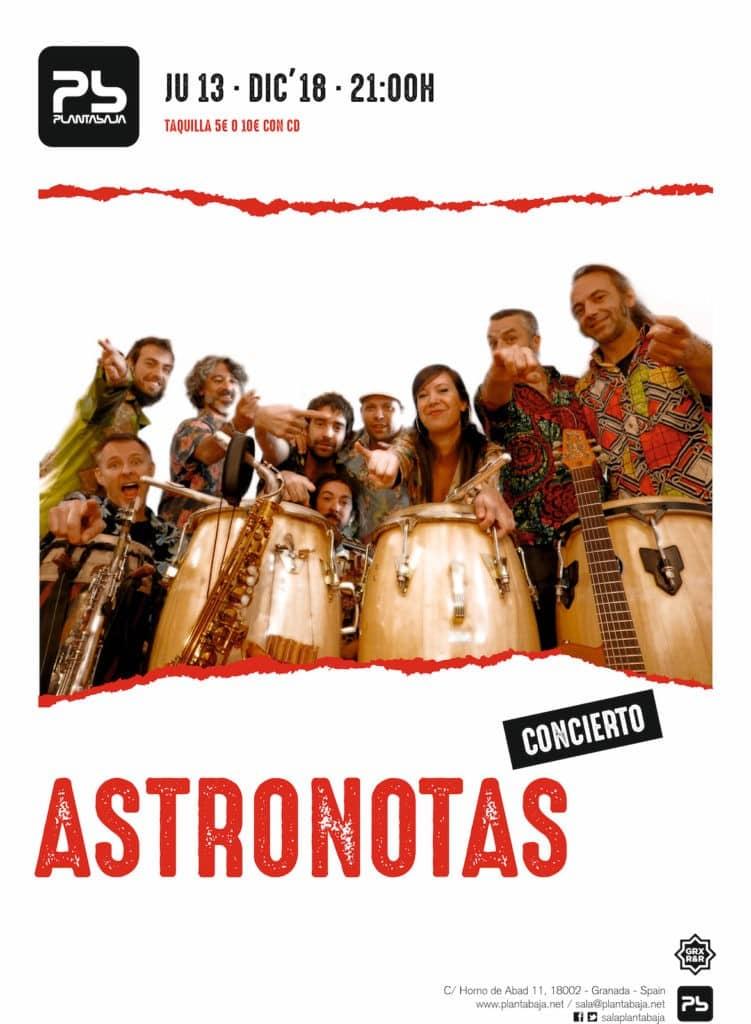 ASTRONOTAS Planta Baja