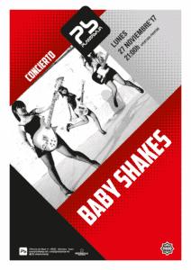 "BABY SHAKES + The Hobo´s Crown ""Los Pirlos"" Planta Baja"