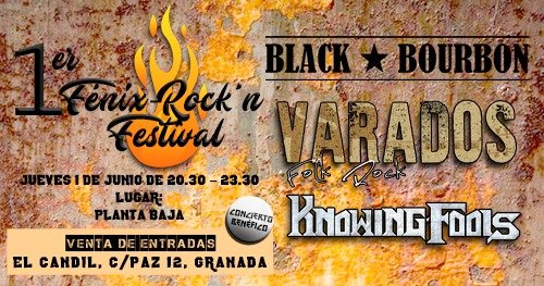 Varados + Black bourbon + Knowing Fools Planta Baja