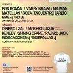 DINERO + IZAL + ANTONIO LUQUE + KENEDY + SHINING KRANE + PÁJARO JACK Planta Baja