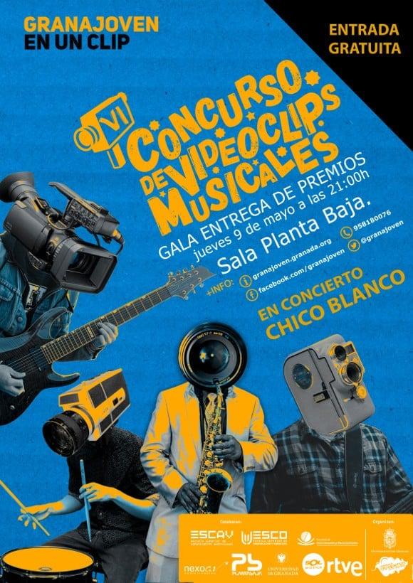 Gala Entrega Premios VI Granajoven en un clip: CHICO BLANCO Planta Baja