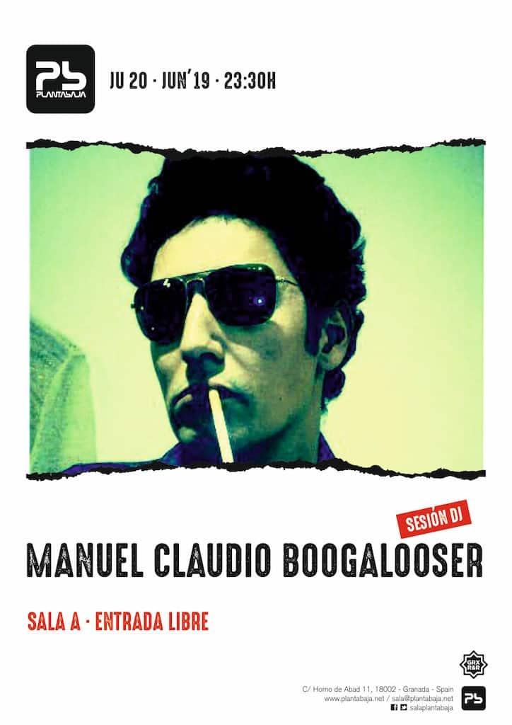 Manuel Claudio Boogalooser Planta Baja