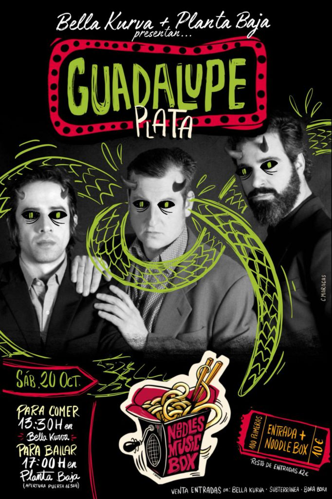 Noodles Music Box: GUADALUPE PLATA Planta Baja