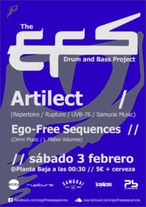Fiesta electrónica: The EFS Drum and Bass Project Planta Baja