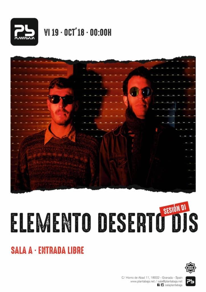 Elemento Deserto DJs Planta Baja