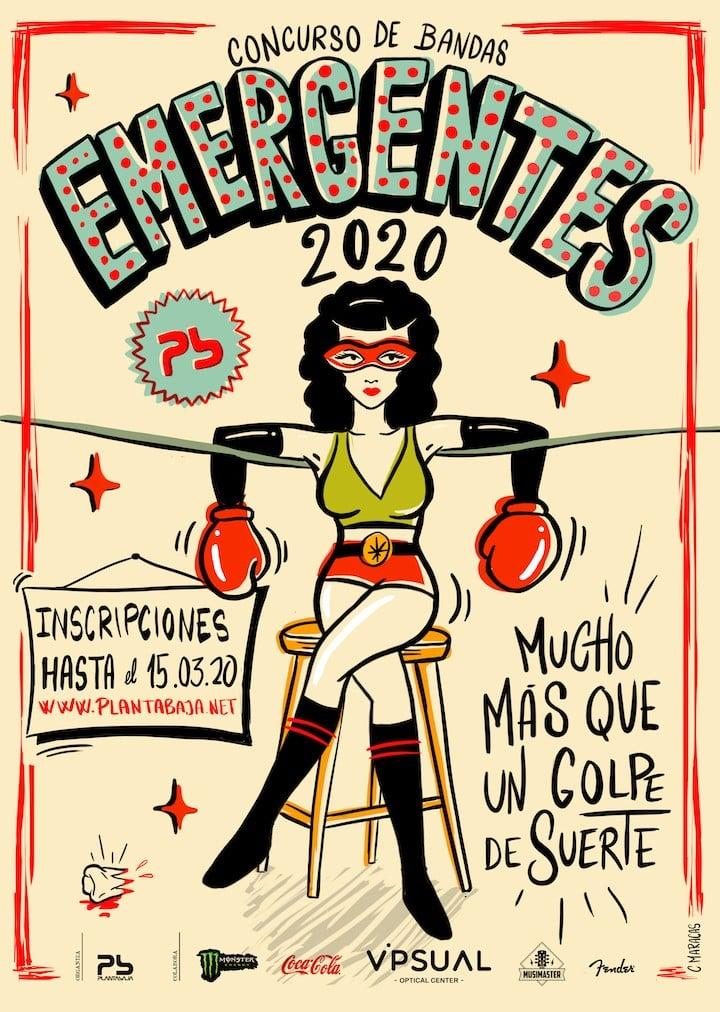 EMERGENTES 2020 Planta Baja