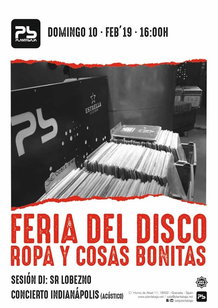 Feria del Disco, Ropa y Cosas Bonitas Febrero 2019 Planta Baja