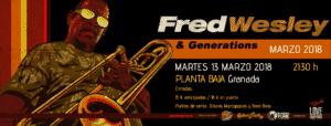Fred Wesley –CANCELADO– Planta Baja