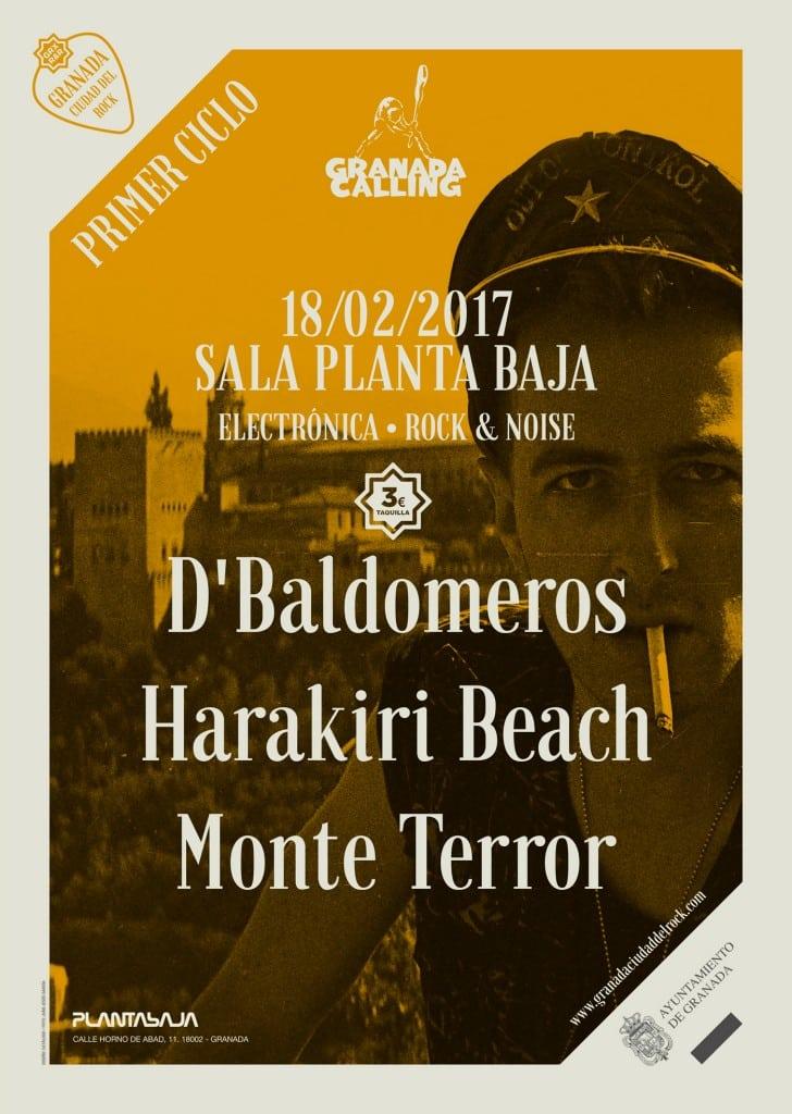 D'Baldomeros + Harakiri beach + Monte Terror Planta Baja