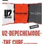 U2 + DEPECHE MODE + THE CURE TRIBUTE BY GREEN COVERS Planta Baja