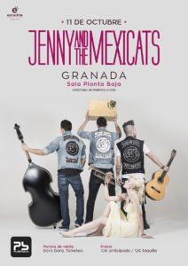 Jenny & The Mexicats + Sweet Home Planta Baja