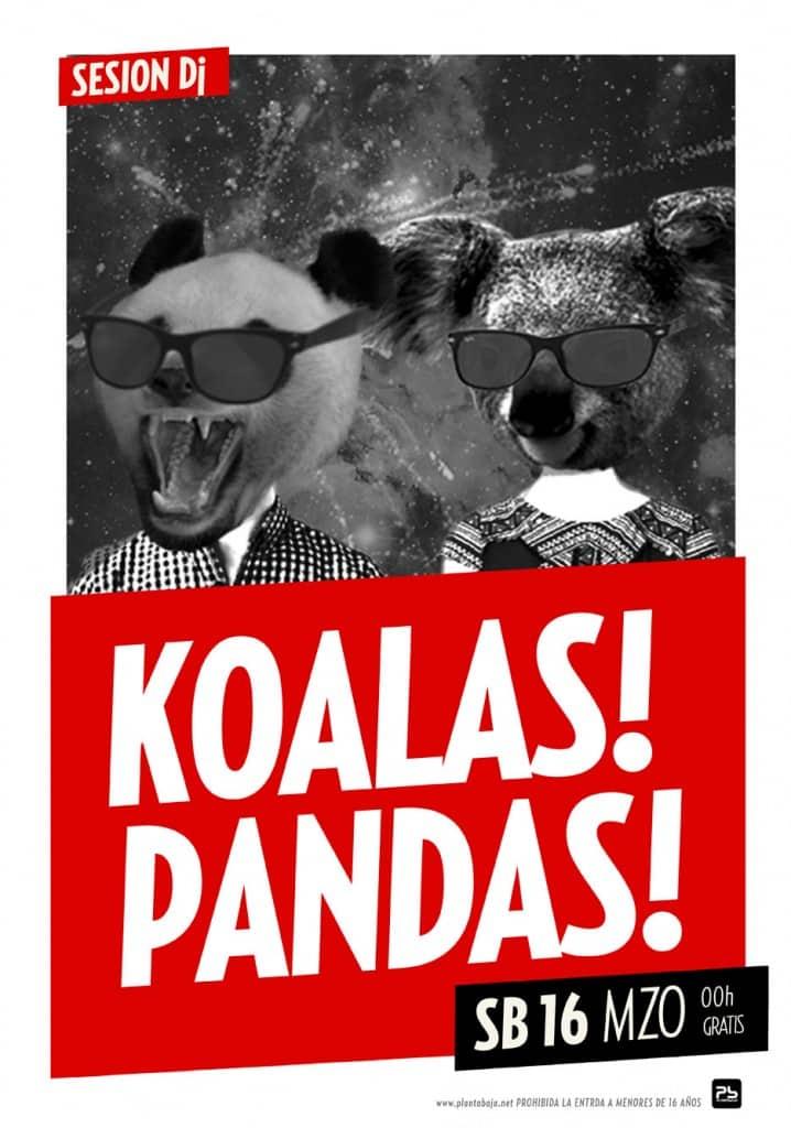 Koalas! Pandas! Planta Baja