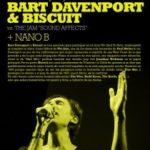 "BART DAVENPORT & BISCUIT plays The Jam ""Sound Affects"" Planta Baja"