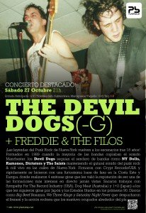 THE DEVIL DOGS - G + FREDDIE & THE FILOS Planta Baja