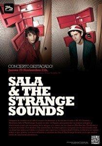 SALA & THE STRANGE SOUNDS Planta Baja