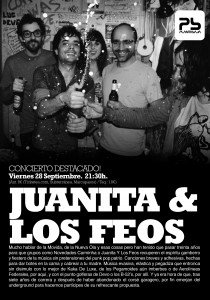 -Aplazado- JUANITA & LOS FEOS Planta Baja