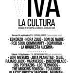 Noni y Ale (LORI MEYERS) + JOTA (PLANETAS) + NEUMAN + PÁJARO JACK + VARAVERDE + CHECOPOLACO + LOS PORTAZOS + LOS TÉRMICOS + THE MISKINS RONSON + AURORA + TOULOUSE + S.U.E. + JORDAN + BISAGRA Planta Baja