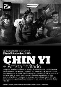 CHIN YI + THE HOLLERS Planta Baja