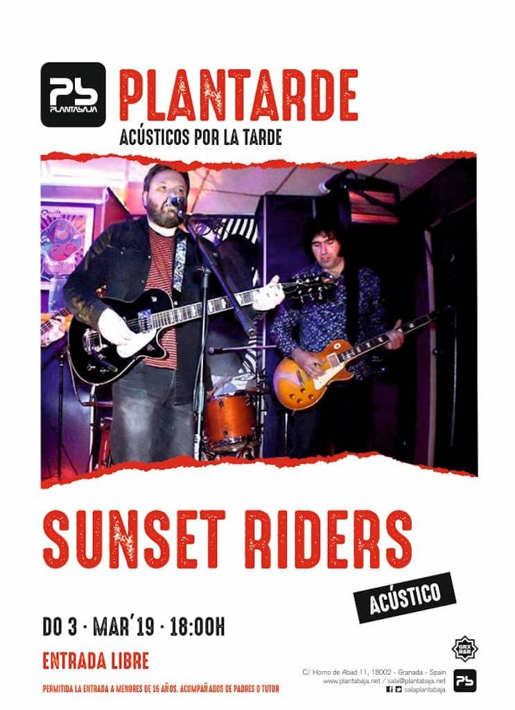 Plantarde SUNSET RIDERS Planta Baja