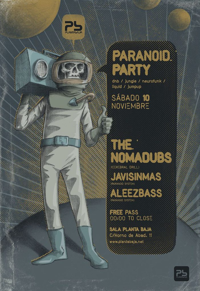 Paranoid Party presenta: THE NOMADUBS Planta Baja