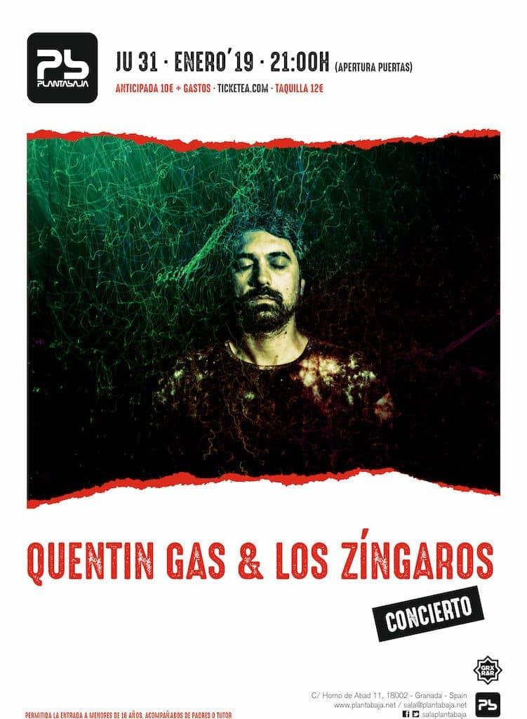 QUENTIN GAS & LOS ZINGAROS Planta Baja