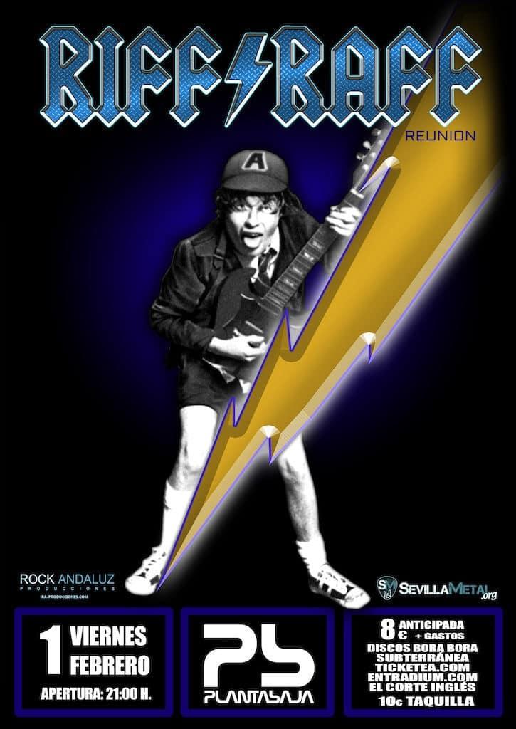 RIFF RAFF REUNION - HOMENAJE A AC/DC Planta Baja