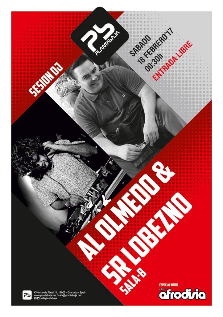 AL OLMEDO (Al supersonic & The Teenagers) + Sr. Lobezno Planta Baja