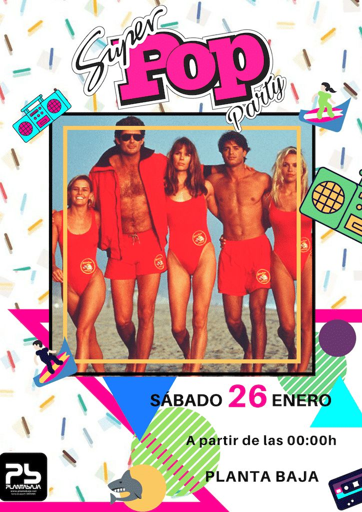 Super Pop Party Planta Baja