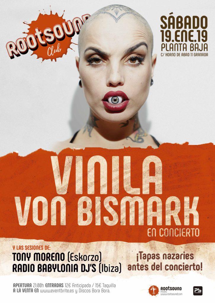 Rootsound Club: VINILA VON BISMARK Planta Baja