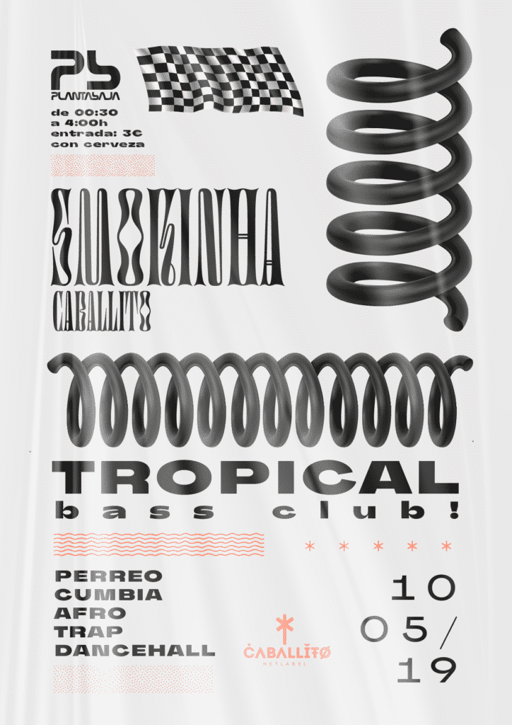 Tropical Bass Club + Smokiña Planta Baja