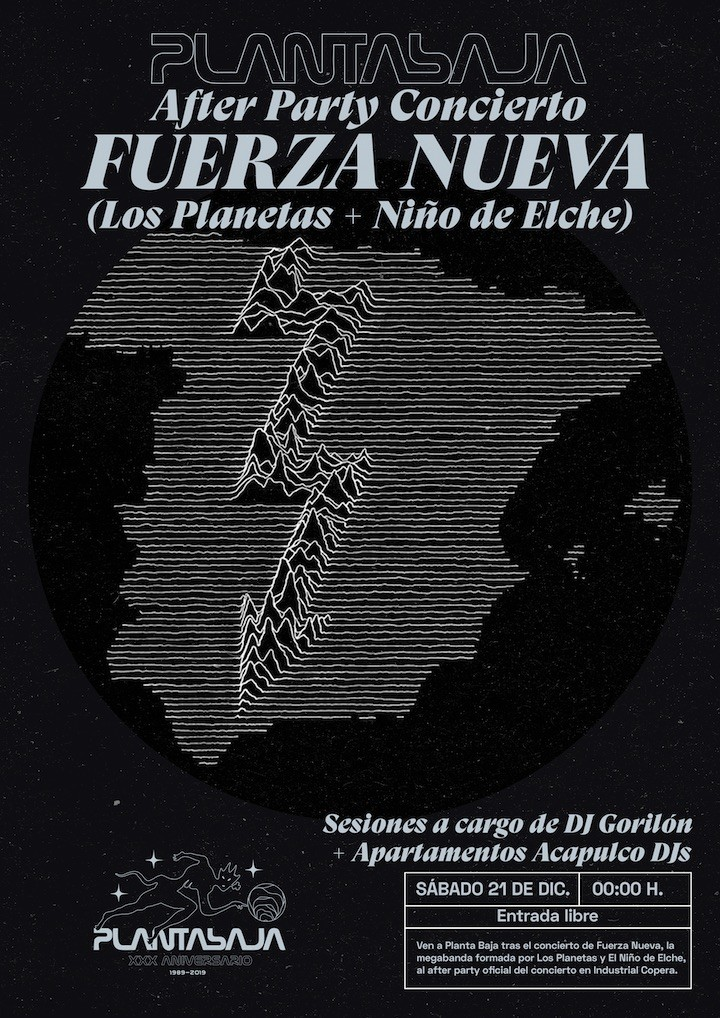 After Party Concierto FUERZA NUEVA Planta Baja