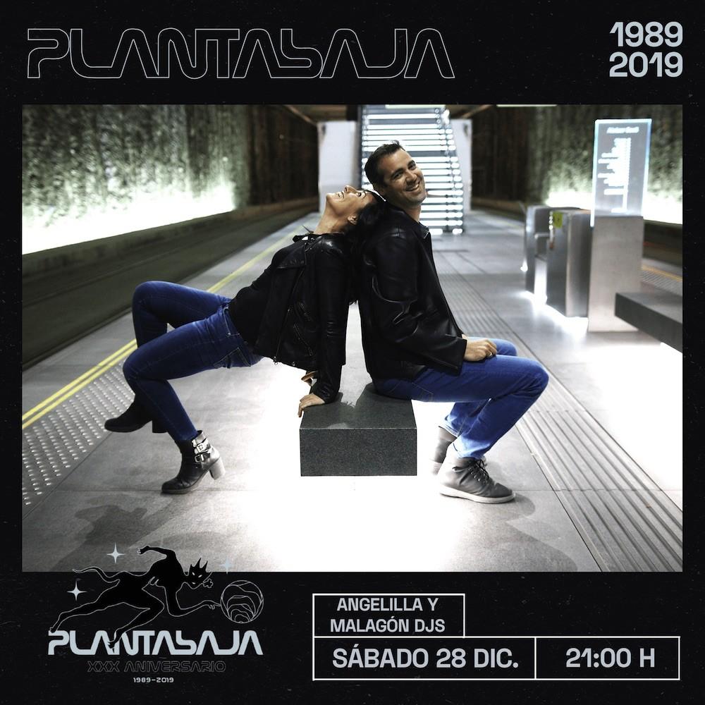 Angelilla & Malagón DJs Planta Baja
