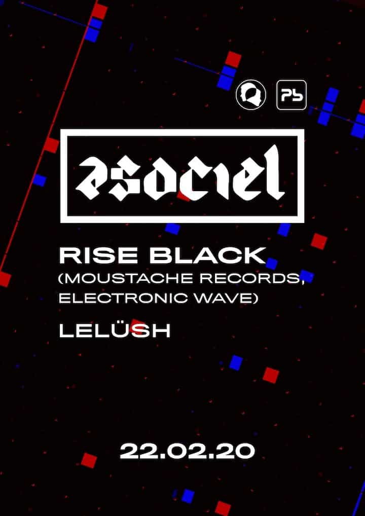 ASOCIEL CLUB: Rise Black (Moustache Records) Planta Baja