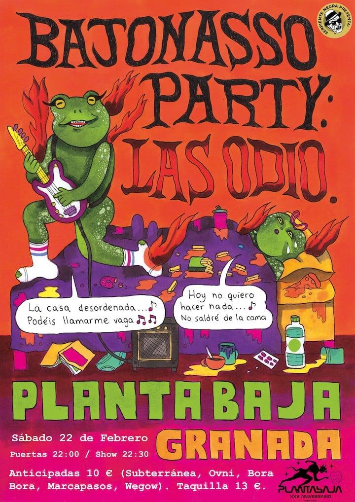 BAJONASSO PARTY: LAS ODIO Planta Baja