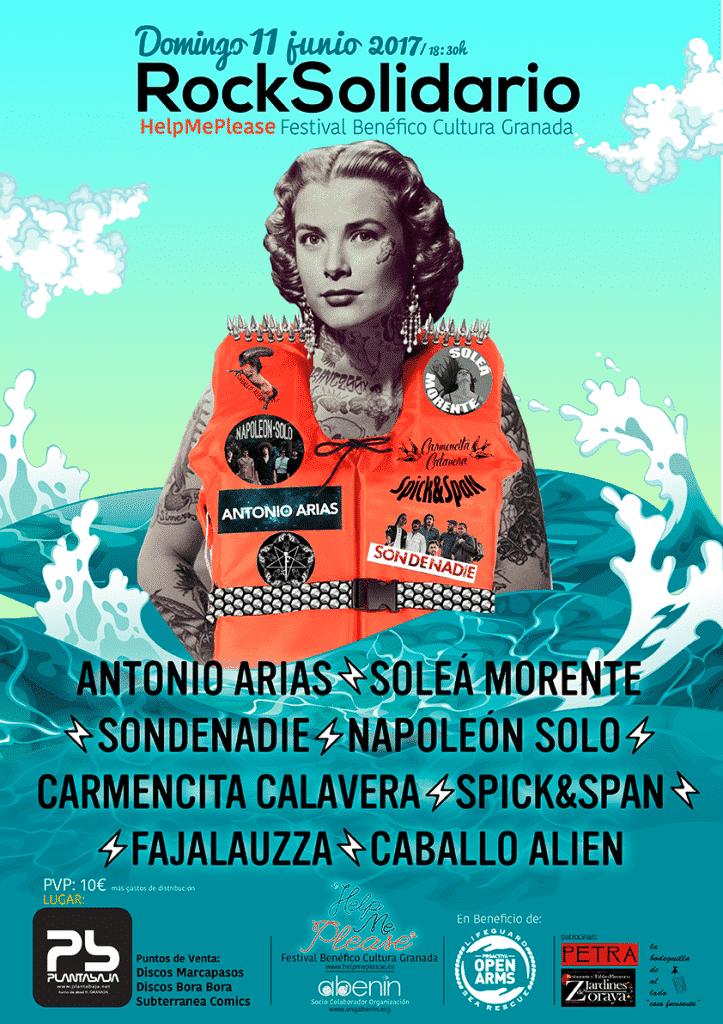 LAGARTIJA NICK + SOLEÁ MORENTE + SONDENADIE + NAPOLEÓN SOLO + CARMENCITA CALAVERA + FAJALAUZZA + SPICK & SPAN + CABALLO ALIEN Planta Baja