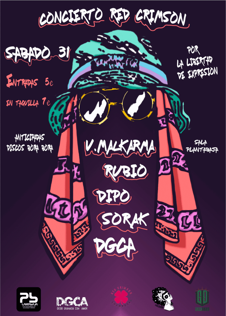 V.Malkarma + Rubio + Dipo + Sorak + Desde Granada Con Amor Planta Baja