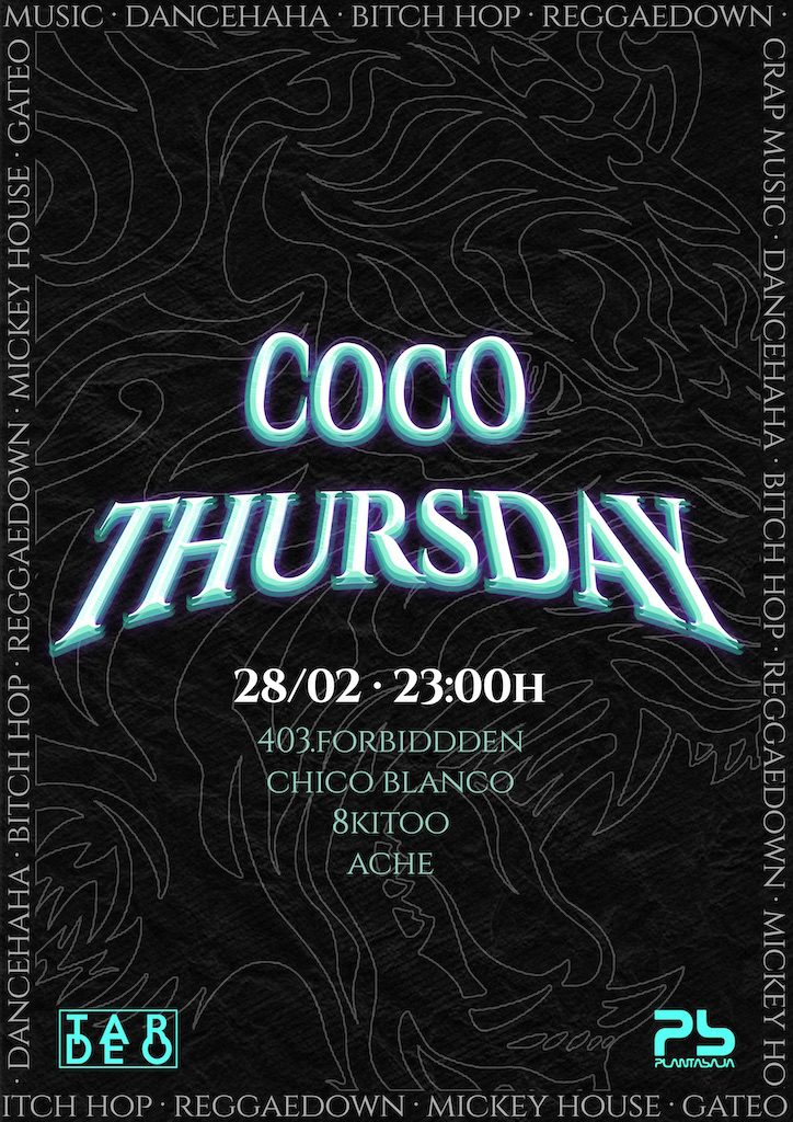 Coco Thursday Planta Baja