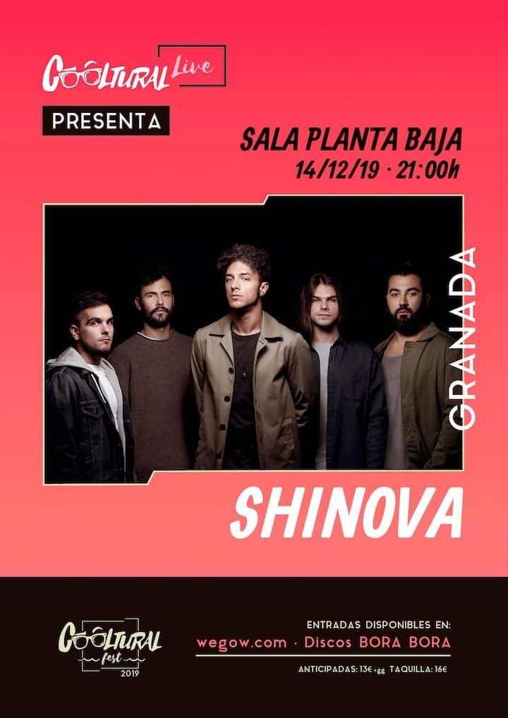 Cooltural Live Presenta: SHINOVA Planta Baja
