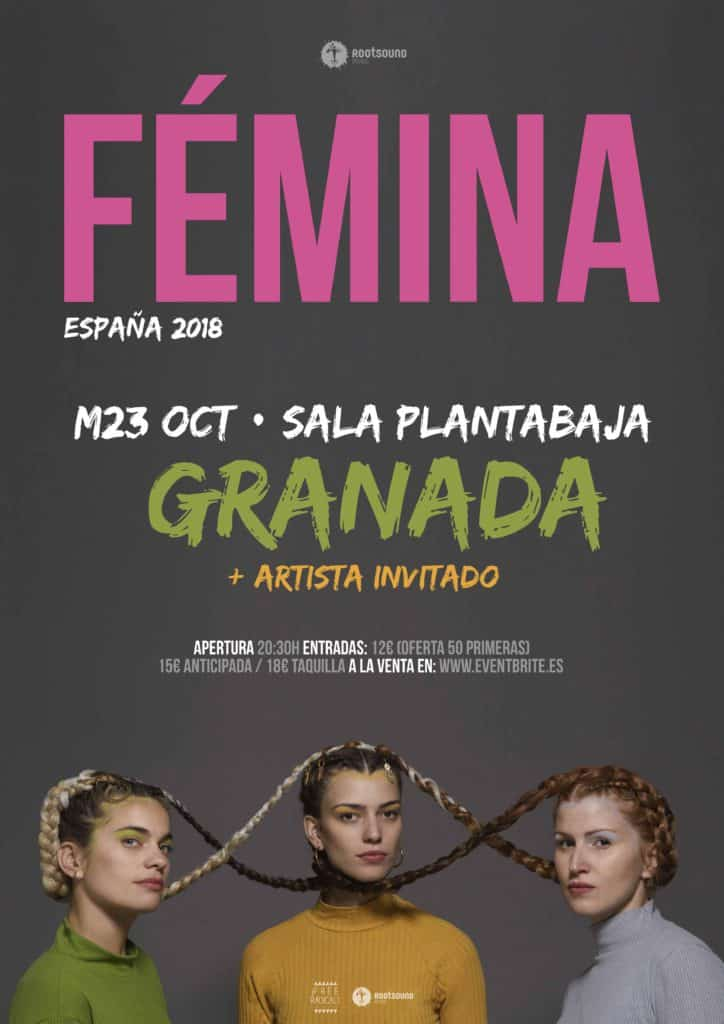 Rootsound Club: FÉMINA Planta Baja