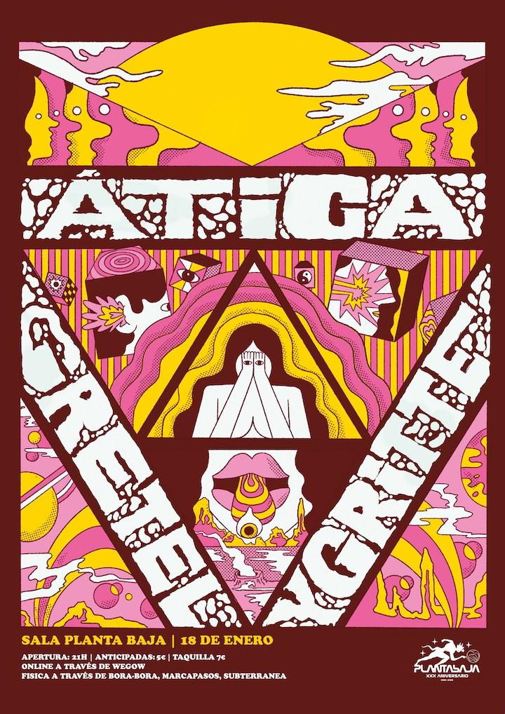 GRETEL + YGRITTE + ATICA Planta Baja