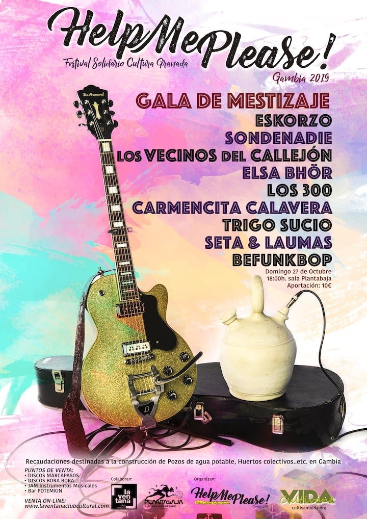 HELP ME PLEASE! 2019 - Gala de Mestizaje Planta Baja
