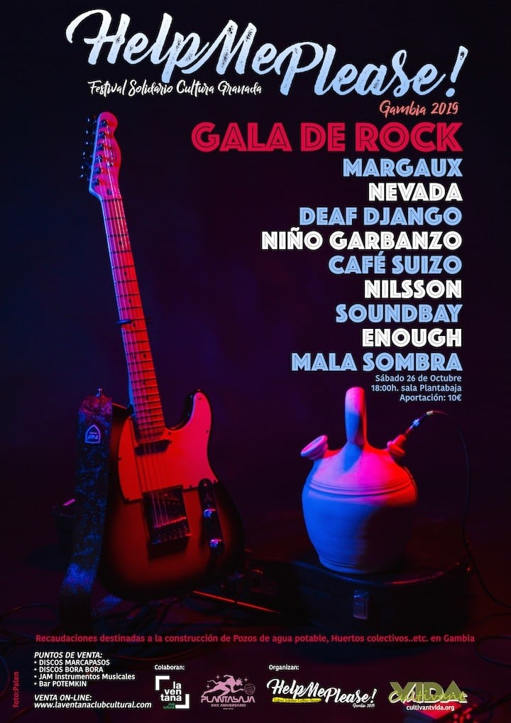 HELP ME PLEASE! 2019 - Gala de Rock Planta Baja