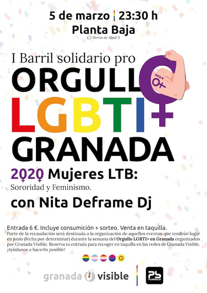I Barril Solidario Pro-Orgullo LGTBI Granada Planta Baja